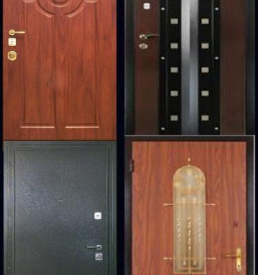 Порошковая окраска. Примеры работ - Покраска металлических дверей