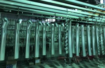 Порошковая окраска. Примеры работ - Порошковая окраска водостоков (водосточных систем)