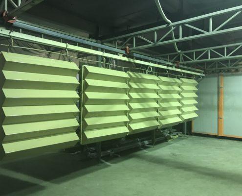 Порошковая окраска. Примеры работ - Порошковая покраска фасадных кассет и вентилируемых фасадов