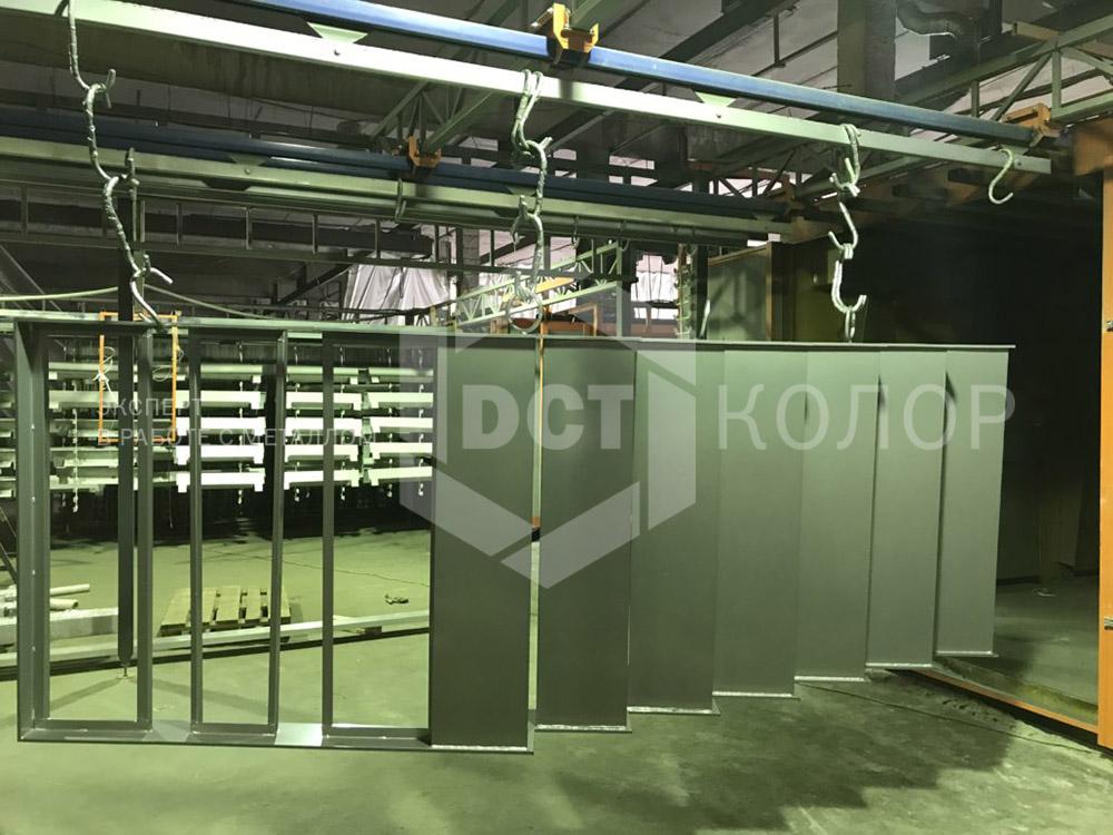 Порошковая окраска. Примеры работ - Изготовление лестничных ограждений из металла