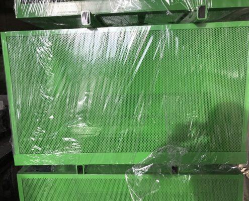 Порошковая окраска. Примеры работ - Порошковая окраска перфорированных листов