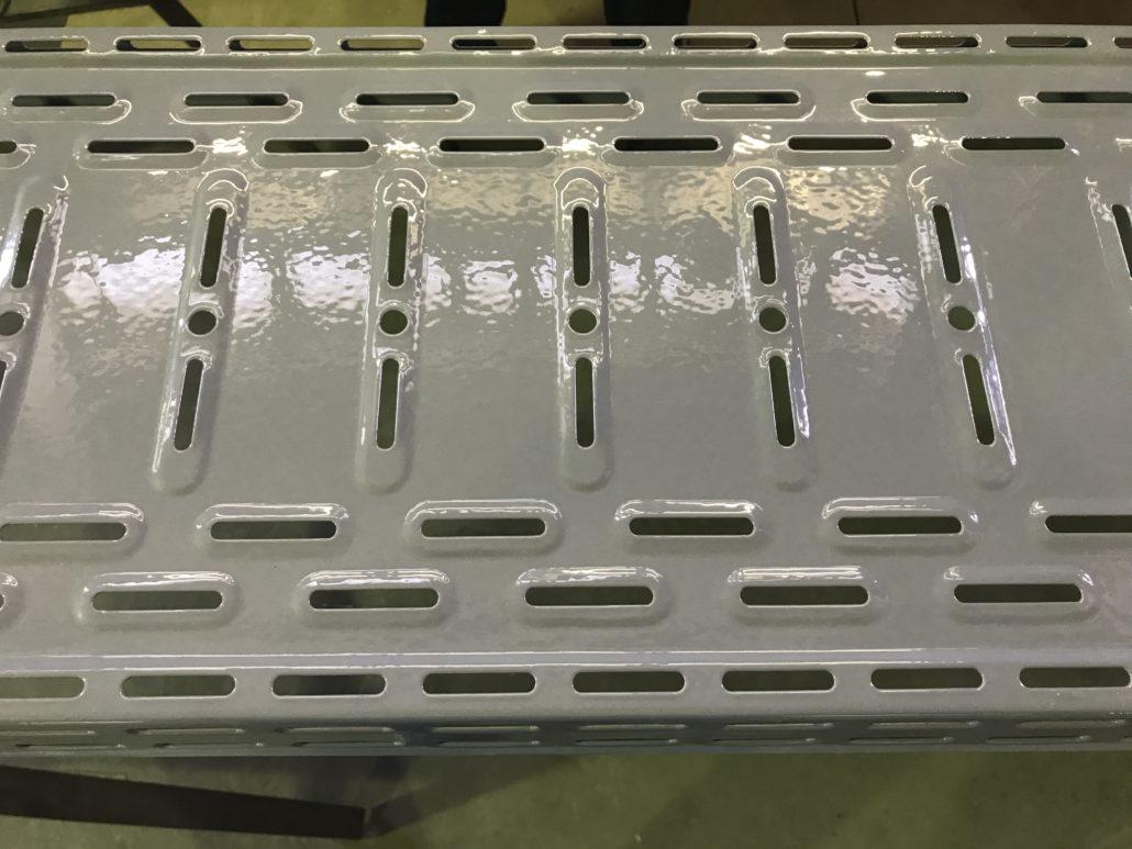 Порошковая окраска. Примеры работ - Запуск проекта по окрашиванию металлоизделий с использованием термопластичных красок