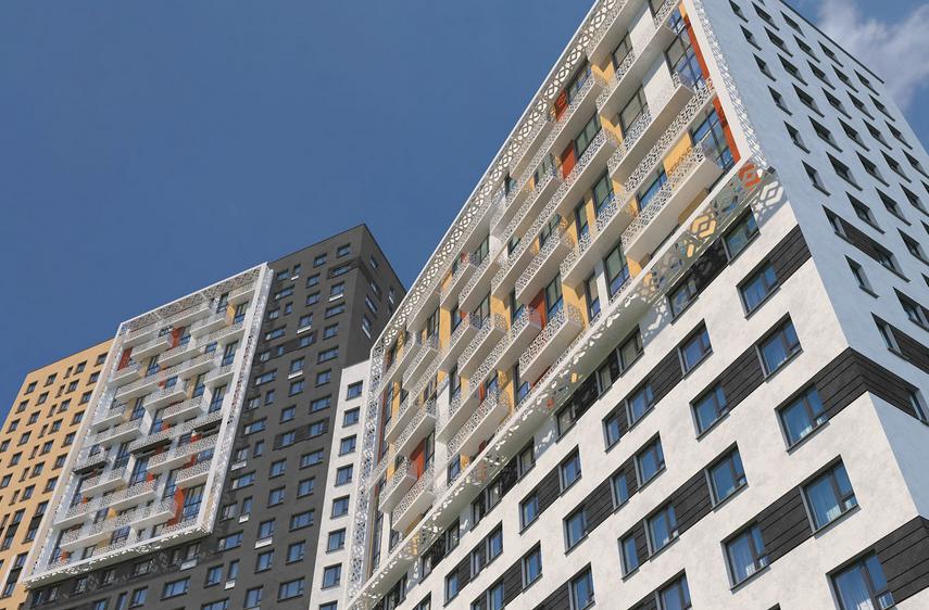Порошковая окраска. Примеры работ - Компания «ДСТ-Колор» выбрана в качестве подрядчика для оказания услуг по порошковой покраске для ЖК «Новая Звезда»