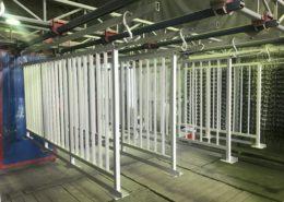 Балконные ограждения - изготовление и порошковая покраска
