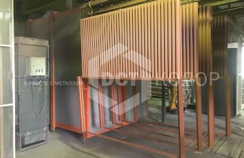 Порошковая покраска вентиляционных систем