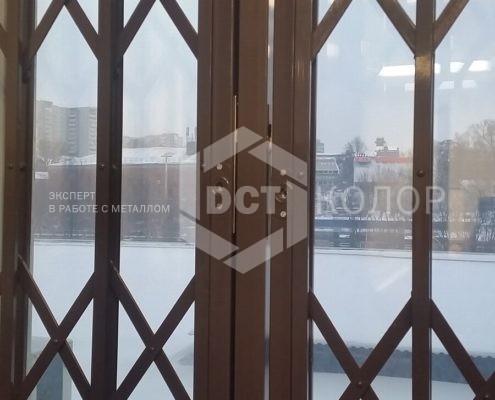 Порошковая окраска. Примеры работ - Металлические решетки на окна
