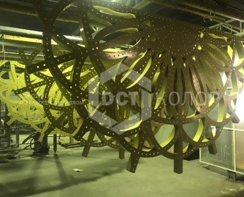 Порошковая окраска. Примеры работ - Порошковая покраска торгового и выставочного оборудования