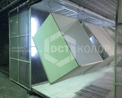 Порошковая окраска. Примеры работ - Компания ДСТ-Колор выбрана подрядчиком  по проекту строительства Многофункционального плавательного центра Олимпийского комплекса «Лужники»