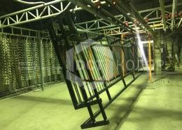 Балконные ограждения - изготовление и порошковая покраска   ДСТ-Колор