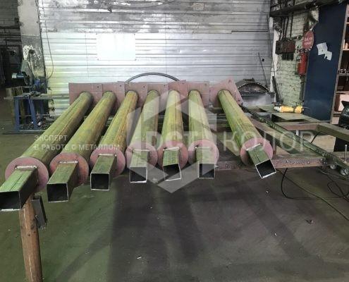 Порошковая окраска. Примеры работ - Компания ДСТ-Колор утверждена в качестве подрядчика по изготовлению металлических беседок для ЖК «PerovSky»