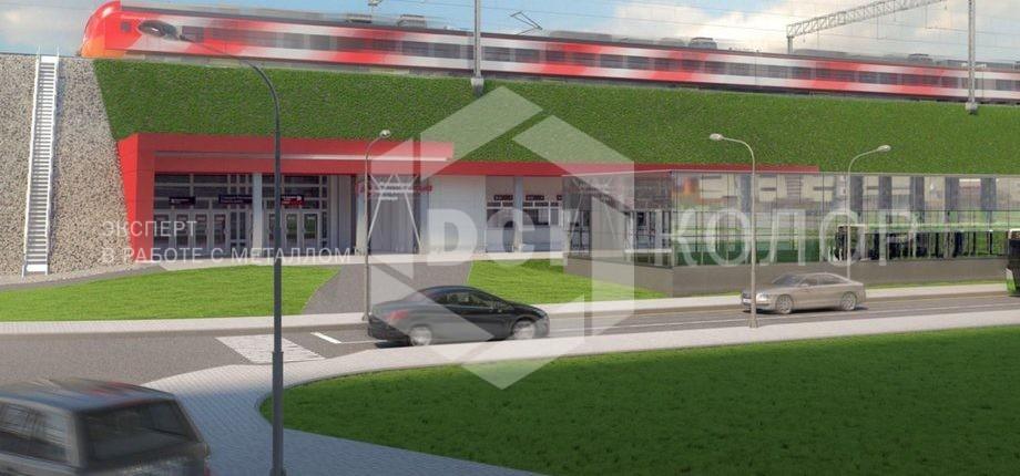 Порошковая окраска - Компания ДСТ-Колор утверждена в качестве подрядчика по покраске фасадных кассет в рамках проекта по переносу платформы Северянин к станции «Ростокино» Московского центрального кольца (МЦК).
