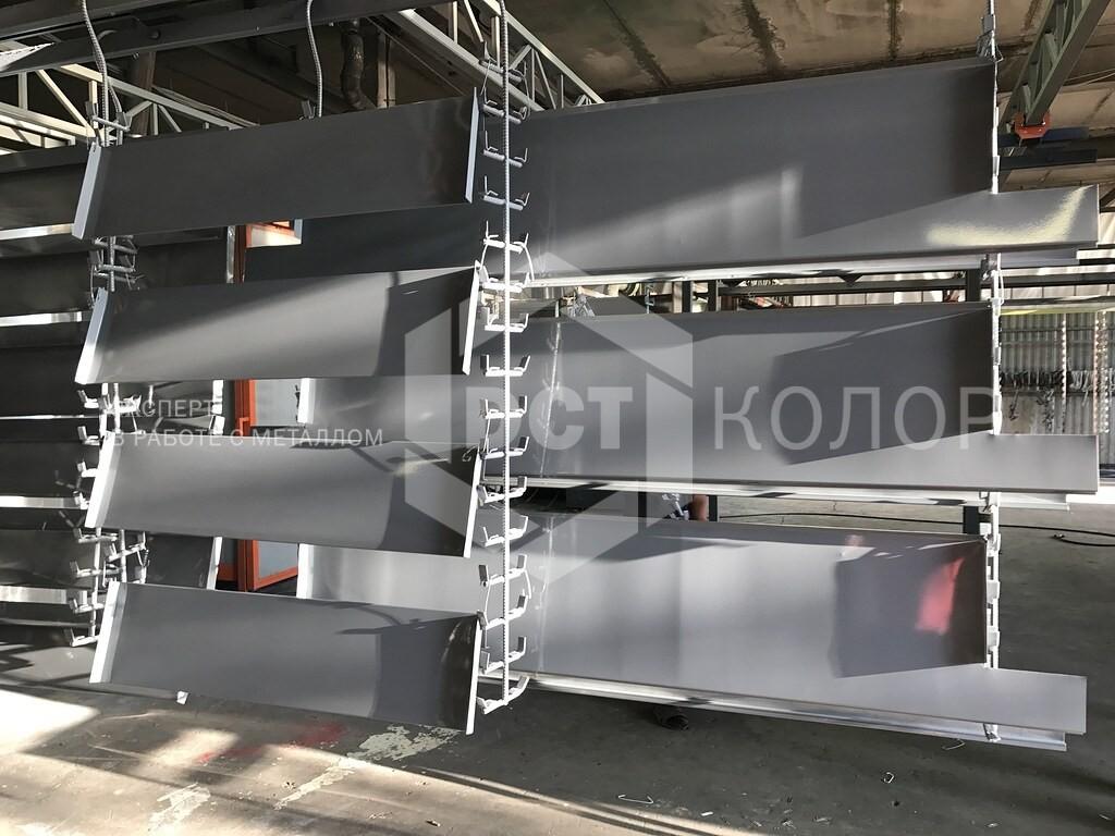 Порошковая окраска. Примеры работ - ДСТ-Колор выбрана в качестве подрядчика для оказания услуг по порошковой покраске в рамках проекта строительства ЖК «Кутузовский life»