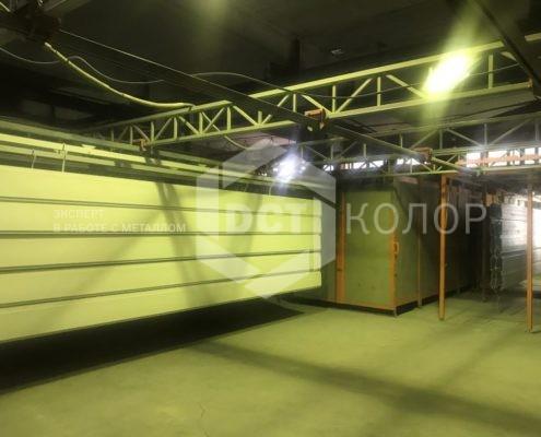 Порошковая окраска - Компания ДСТ-Колор выбрана в качестве подрядчика для выполнения работ по порошковой покраске фасадных элементов в рамках проектов организации ТПУ «Сетунь» и «Пойма» Московской железной дороги