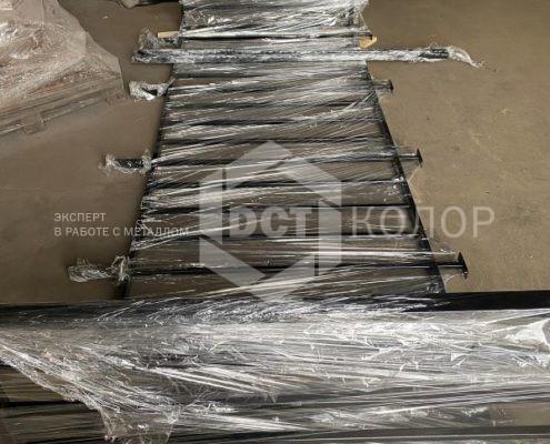 Порошковая окраска. Примеры работ - Изготовление балконных ограждений из металла