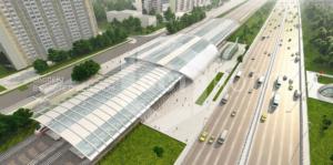 Порошковая окраска - Компания ДСТ-Колор приняла участие в реализации проектов развития транспортной инфраструктуры г. Москвы (ОП «Славянский бульвар»)