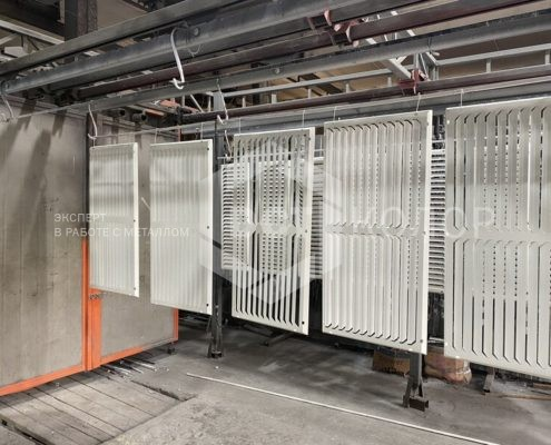 Порошковая окраска - В июне 2021 года компания ДСТ-Колор выиграла конкурс по выбору поставщика для оказания услуг порошковой покраски для проекта строительства авторского ЖК «Филатов Луг»